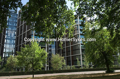 One Hyde Park, Knightsbridge London. UK Over looking Hyde Park London.