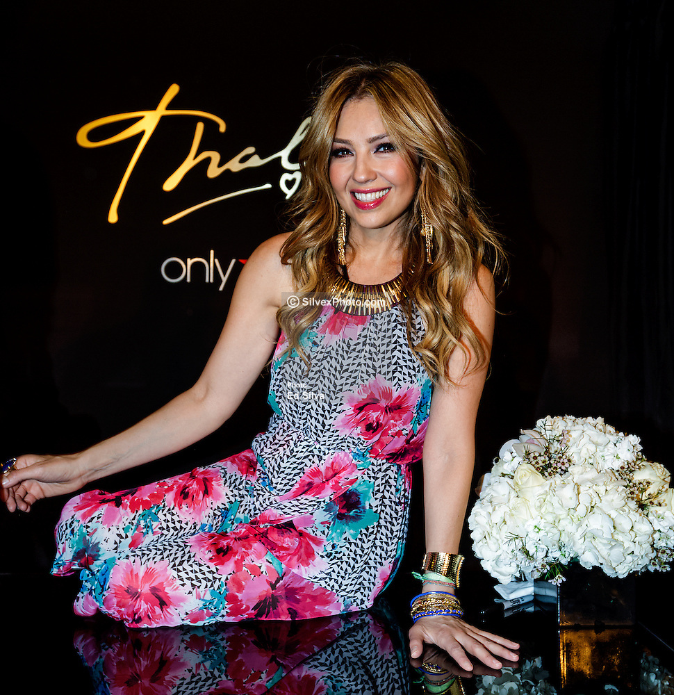 Beauty Plus Rancho Cucamonga: Thalia Launches Her Thalia Sodi Collection At Macy's