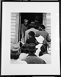 copy of a mounted print of one of the pictures from my exhibit of images from Civil Rights Movement circa 1965-1968, copied at my apartment, in Saugerties, NY, on Thursday, January 14, 2016. Photo by Jim Peppler. Copyright Jim Peppler 2016.