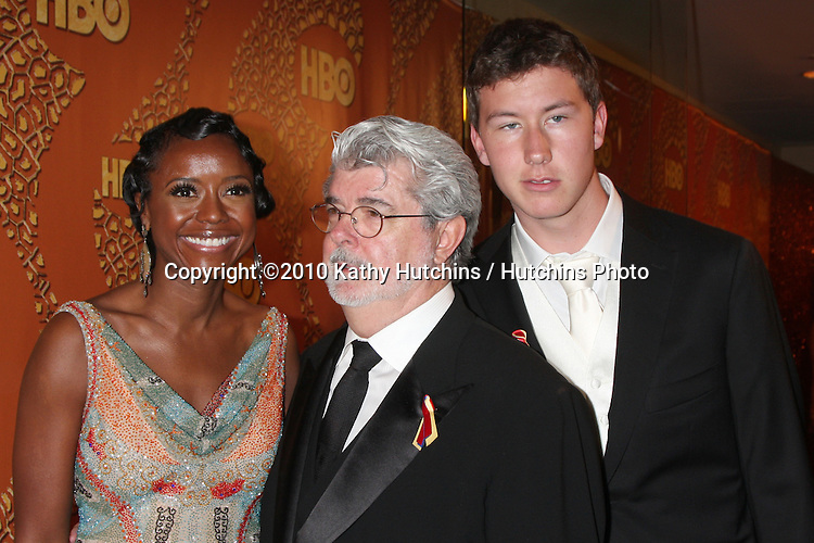 George Lucas.arriving at the 67th Annual Golden Globe Awards Official HBO After Party.Beverly Hilton Hotel.Beverly Hills, CA.January 17, 2010.©2010 Kathy Hutchins / Hutchins Photo....