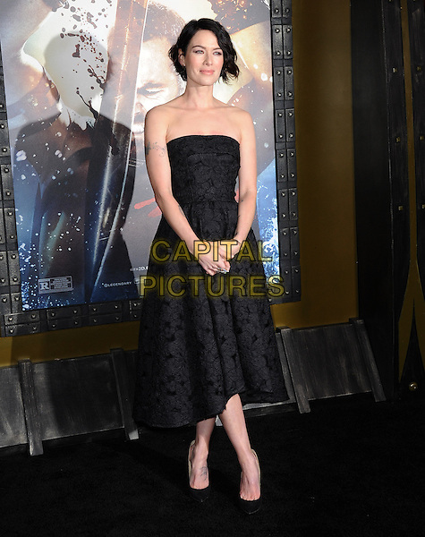 Lena Headey attends The Warner Bros. Pictures L.A. Premiere of 300 : Rise of an Empire held at The TCL Chinese Theatre in Hollywood, California on March 04,2014                                                                               <br /> CAP/DVS<br /> &copy;DVS/Capital Pictures