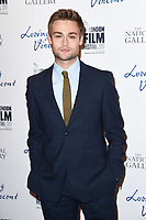 Douglas Booth<br /> arriving for the London Film Festival 2017 screening of &quot;Loving Vincent&quot; at the National Gallery, Trafalgar Square, London<br /> <br /> <br /> &copy;Ash Knotek  D3328  09/10/2017