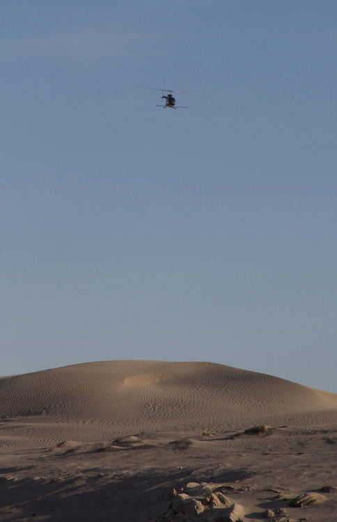 Wahluke Slope, Crop dusting, helicopter, Columbia Basin, eastern Washington, Washington State, Pacific Northwest, USA, North America,