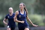 CARY, NC - AUGUST 24: Ashley Hatch. The North Carolina Courage held a training session on August 24, 2017, at WakeMed Soccer Park Field 7 in Cary, NC.