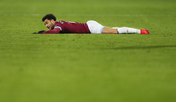 West Ham United's Felipe Anderson<br /> <br /> Photographer Rob Newell/CameraSport<br /> <br /> The Premier League - West Ham United v Brighton and Hove Albion - Wednesday 2nd January 2019 - London Stadium - London<br /> <br /> World Copyright © 2019 CameraSport. All rights reserved. 43 Linden Ave. Countesthorpe. Leicester. England. LE8 5PG - Tel: +44 (0) 116 277 4147 - admin@camerasport.com - www.camerasport.com