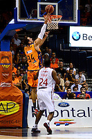 Temporada 2014 - 15 Liga ACB<br /> <br /> Presentaci&oacute;n Valencia Basket<br /> <br /> Amistoso Valencia Basket Club vs Cai Zaragoza<br /> <br /> Pablo Aguilar vs Marcus Landry