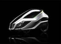 BNPS.co.uk (01202 558833)<br /> Pic: GrantSinclair/BNPS<br /> <br /> The much-maligned Sinclair C5 electric tricycle that fell flat on its face in the 1980s has been reborn by the original inventor's nephew. <br /> <br /> Eccentric businessman Sir Clive Sinclair is famous for some groundbreaking inventions but none more so than his disastrous one person vehicle.<br /> <br /> Sir Clive touted his plastic-covered tricycle as a leap in personal transportation only for it to be reviewed as one of the greatest marketing bombs of post-war Britain. <br /> <br /> Grant Sinclair has kept faith in his uncle's memorable design and has spent the last four years reimagining it in the hope his fairs better in a world where bike lanes are common place.