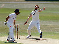 Ivan Thomas bowls for Kent during Kent CCC vs Sussex CCC, Bob Willis Trophy Cricket at The Spitfire Ground on 8th August 2020