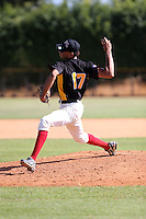 Melvin Montoli participates in the Dominican Prospect League 2014 Louisville Slugger Tournament at the New York Yankees academy in Boca Chica, Dominican Republic on January 20-21, 2014 (Bill Mitchell)