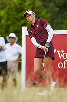 Ryann O'Toole (USA) watches her tee shot on 10 during the round 2 of the Volunteers of America Texas Classic, the Old American Golf Club, The Colony, Texas, USA. 10/4/2019.<br /> Picture: Golffile | Ken Murray<br /> <br /> <br /> All photo usage must carry mandatory copyright credit (© Golffile | Ken Murray)