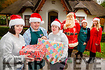 Grace Murray, Nakita Quirke, Stephen Brosnan, Maura Murphy and Claire McCarthy who are preparing for Santas visit to take up residence in Deenagh Cottage Killarney in aid of Down Syndrome Kerry association this Saturday