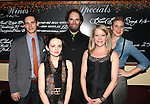 Cory Michael Smith, Reyna de Courcy, Shuler Hensley, Tasha Lawrence & Cassie Beck attending the Opening Night Performance After Party for 'The Whale' at West Bank Cafe in New York City on 11/05/2012