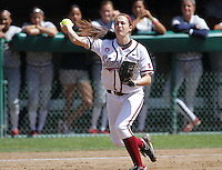 STANFORD, CA - April 3, 2011:  Jenna Becerra during Stanford's 2-0 loss to Arizona at Stanford, California on April 3, 2011.