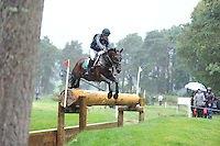 Blair Atholl, Scotland, UK. 12th September, 2015. Longines  FEI European Eventing Championships 2015, Blair Castle.Sam Watson (IRL) riding Horseware Lukeswell  Sam Watson (IRL) riding Horseware Lukeswell during the Cross country phase © Julie Priestley