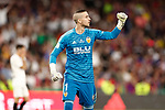 Valencia CF's Jaume Domenech celebrates goal during Spanish King's Cup Final match. May 25,2019. (ALTERPHOTOS/Carrusan)