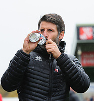 Lincoln City manager Danny Cowley<br /> <br /> Photographer Chris Vaughan/CameraSport<br /> <br /> The EFL Sky Bet League Two - Lincoln City v Crewe Alexandra - Saturday 6th October 2018 - Sincil Bank - Lincoln<br /> <br /> World Copyright &copy; 2018 CameraSport. All rights reserved. 43 Linden Ave. Countesthorpe. Leicester. England. LE8 5PG - Tel: +44 (0) 116 277 4147 - admin@camerasport.com - www.camerasport.com