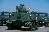 October 26, 1980. Assaka, Japan. A national holiday with parade in honor of the Japanese Army.