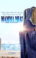 Mamma Mia! Here We Go Again (2018)<br /> POSTER ART<br /> *Filmstill - Editorial Use Only*<br /> CAP/KFS<br /> Image supplied by Capital Pictures