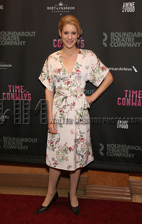 Charlotte Parry attends the Broadway Opening Night After Party for The Roundabout Theatre Company production of 'Time and The Conways'  on October 10, 2017 at the American Airlines Theatre in New York City.