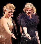 Blythe Danner Returns to Broadway: Kelli O'Hara, Blythe Danner .during the Curtain Call for 'Nice Work If You Can Get It'  at the Imperial Theatre in New York City on December 19, 2012