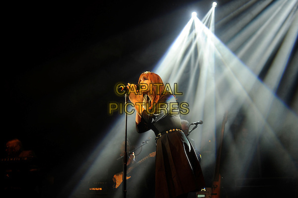 LONDON, ENGLAND - MARCH 5: Gabrielle Aplin of 'The Trevor Horn Band' performing at Shepherd's Bush Empire on March 5, 2015 in London, England.<br /> CAP/MAR<br /> &copy; Martin Harris/Capital Pictures