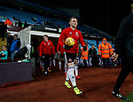 Caolan Lavery of Sheffield Utd walks out of the tunnel during the Championship match at Villa Park Stadium, Birmingham. Picture date 23rd December 2017. Picture credit should read: Simon Bellis/Sportimage
