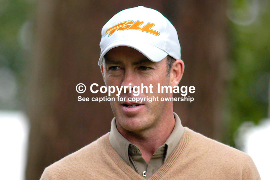 Richard Green, professional golfer, Australia. Ref: 200506296875. This image was taken at the K Club, Co Kildare, Ireland, during the Smurfit European Open Golf Championship practice and Pro-Am days. ..Copyright Image from Victor Patterson, 54 Dorchester Park, Belfast, UK, BT9 6RJ..Tel: +44 28 9066 1296.Mob: +44 7802 353836.Voicemail +44 20 8816 7153.Skype: victorpattersonbelfast.Email: victorpatterson@mac.com.Email: victorpatterson@ireland.com (back-up)..IMPORTANT: If you wish to use this image or any other of my images please go to www.victorpatterson.com and click on the Terms & Conditions. Then contact me by email or phone with the reference number(s) of the image(s) concerned.
