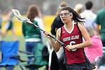 Santa Barbara, CA 02/18/12 - Sofia Robinson (Santa Clara #6) in action during the Santa Clara-Arizona game at the 2012 Santa Barbara Shootout.  Santa Clara defeated Arizona 18-9.