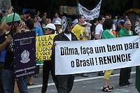SÃO PAULO,SP, 15.11.2015 - PROTESTO-DILMA - Manifestantes do movimento Vem Pra Rua e outros grupos fazem ato contra o atual governo de Dilma Rousseff na avenida Paulista na tarde deste domingo, 15. (Foto: Amauri Nehn/Brazil Photo Press)