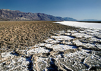 SALT FLATS - DEATH VALLEY NATIONAL PARK, CALIFORNIA