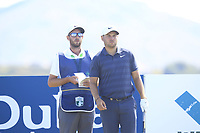 Jordan Smith (ENG) on the 11th tee during Round 2 of the Dubai Duty Free Irish Open at Ballyliffin Golf Club, Donegal on Friday 6th July 2018.<br /> Picture:  Thos Caffrey / Golffile