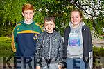 Kerry 1st year maths quiz at IT Tralee South campus on Friday. Pictured  Gaelchol&aacute;iste Ciarra&iacute;.Ruadhra&iacute; Mac Amhlaoibh,Ron&aacute;n &Oacute; Luasaigh agus Grainne N&iacute;<br />  Churt&aacute;in.