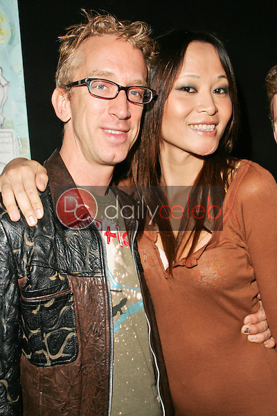 Andy Dick and Helen Wong<br /> at the L Salon Art Show, featuring pieces by Bryan Kirkwood, L Salon, Los Angeles, CA 09-23-06<br /> David Edwards/DailyCeleb.Com 818-249-4998