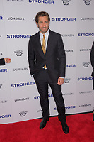 www.acepixs.com<br /> <br /> September 14 2017, New York City<br /> <br /> Actor Jake Gyllenhaal arriving at the premiere of 'Stronger'  at the Walter Reade Theater on September 14, 2017 in New York City.<br /> <br /> By Line: Curtis Means/ACE Pictures<br /> <br /> <br /> ACE Pictures Inc<br /> Tel: 6467670430<br /> Email: info@acepixs.com<br /> www.acepixs.com