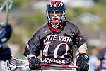 Corona Del Mar, CA 04/06/10 - David Ehlers (Danville/Monte Vista #10) in action during the Corona Del Mar-Danville/Monte Vista lacrosse game.