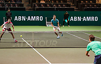 Rotterdam, The Netherlands, 14 Februari 2019, ABNAMRO World Tennis Tournament, Ahoy, Semis, Doubles,<br /> Marcel Granollers (ESP) Nikola Mektic (CRO),<br /> Photo: www.tennisimages.com/Henk Koster