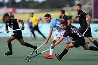 Kane Russell. Pro League Hockey, Vantage Blacksticks Men v Argentina. North Harbour Hockey Stadium, Auckland, New Zealand. Sunday 10 March 2019. Photo: Simon Watts/Hockey NZ