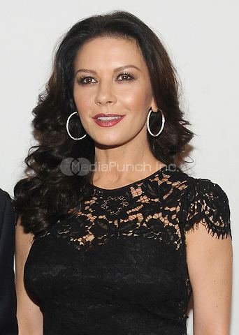 NEW YORK, NY - DECEMBER 16: Catherine Zeta-Jones  attends the opening of the Mica and Ahmet Ertegun Atrium at Jazz at Lincoln Center on December 17, 2015 in New York City.  Photo Credit: John Palmer/MediaPunch