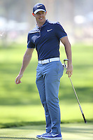 February 20, 2016: Rory McIlroy during the third round of the Northern Trust Open, Pacific Palisades,CA. Michael Zito/ESW/CSM