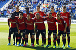 Mallorca team lines up during La Liga match. Oct 26, 2019. (ALTERPHOTOS/Manu R.B.)