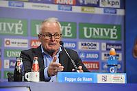 VOETBAL: HEERENVEEN: 20-121-2015, SC Heerenveen - ADO Den Haag, uitslag 0-4, Foppe de Haan na afloop van de wedstrijd, ©foto Martin de Jong