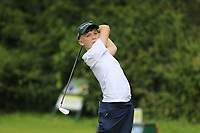 Eanna Mulhare (Birr) during the Connacht U14 Boys Amateur Open, Ballinasloe Golf Club, Ballinasloe, Galway,  Ireland. 10/07/2019<br /> Picture: Golffile | Fran Caffrey<br /> <br /> <br /> All photo usage must carry mandatory copyright credit (© Golffile | Fran Caffrey)