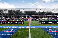 A general view of Liberty Stadium prior to kick off of  the Fly Emirates FA Cup Quarter Final match between Swansea City and Tottenham Hotspur at the Liberty Stadium, Swansea, Wales, UK. Saturday 17 March 2018