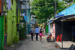 Favela Coliseu, bairro Vila Olimpia, Sao Paulo. 2018. Foto © Juca Martins.