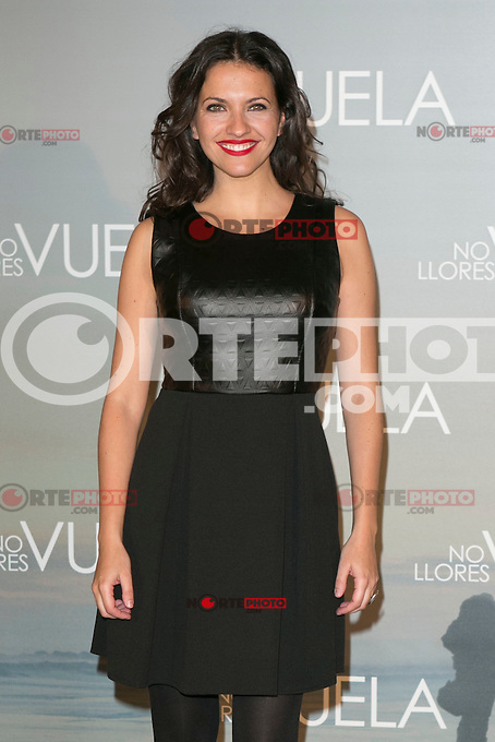 Ana Ruiz attends Claudia&acute;s Llosa &quot;No Llores Vuela&quot; movie premiere at Callao Cinema, Madrid,  Spain. January 21, 2015.(ALTERPHOTOS/)Carlos Dafonte) /NortePhoto<br />