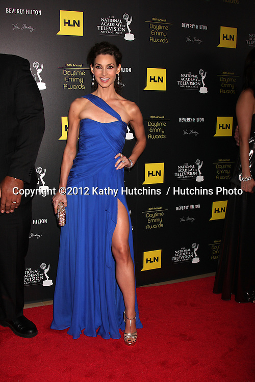 LOS ANGELES - JUN 23:  Alicia Minshew arrives at the 2012 Daytime Emmy Awards at Beverly Hilton Hotel on June 23, 2012 in Beverly Hills, CA