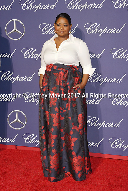 PALM SPRINGS, CA - JANUARY 02: Actress Octavia Spencer attends the 28th Annual Palm Springs International Film Festival Film Awards Gala at the Palm Springs Convention Center on January 2, 2017 in Palm Springs, California.