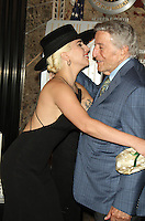 NEW YORK, NY-August 03: Lady Gaga, Tony Bennett Light the Empire State Building in honor of 90 years of  Tony Bennett's Musical Legacy at the Empire State Building  in New York. NY August 03, 2016. Credit:RW/MediaPunch