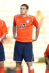 09 September 2011: Virginia's Hunter Jumper. The University of Virginia Cavaliers defeated the Duke University Blue Devils 1-0 at Koskinen Stadium in Durham, North Carolina in an NCAA Division I Men's Soccer game.