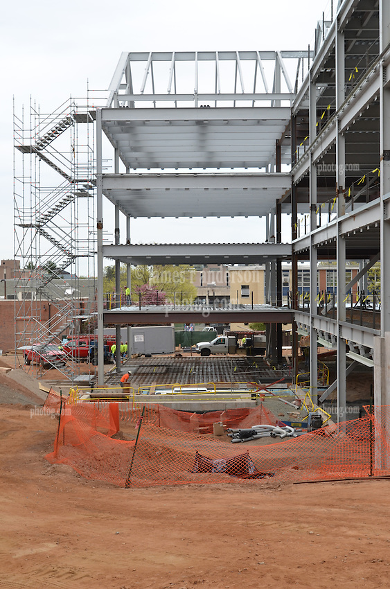 Central Connecticut State University.  New Academic Building.  Project No: BI-RC-324.Architect: Burt Hill Kosar Rittelmann Associates    Contractor: Gilbane Building Company, Glastonbury, CT..James R Anderson Photography   New Haven CT   photog.com.Date of Photograph: 18 April 2012  Image No.: 30.Camera View: